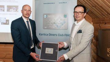 Predstavitev nove plačilne kartice Diners Club FIHO